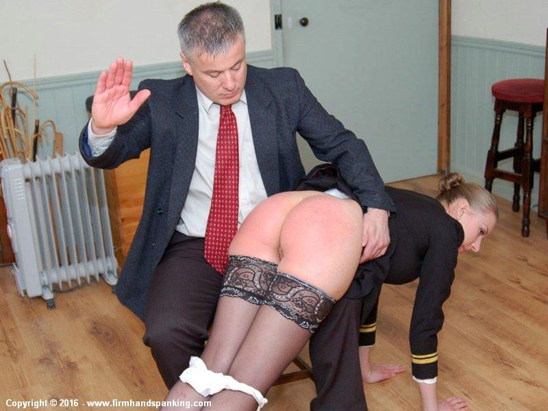 Firm hand spanking