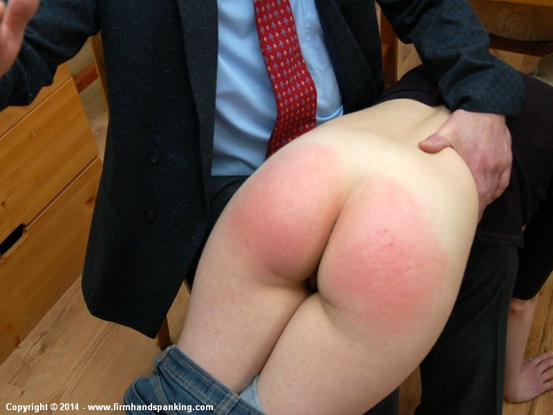 Excellent idea. Spanked on bare ass
