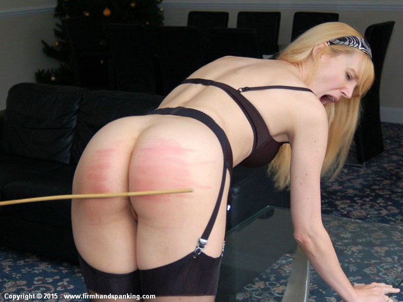 Getting bare ass spankings something is