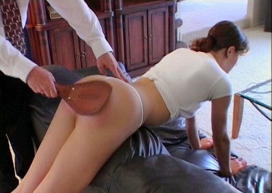 Something is. hand spank