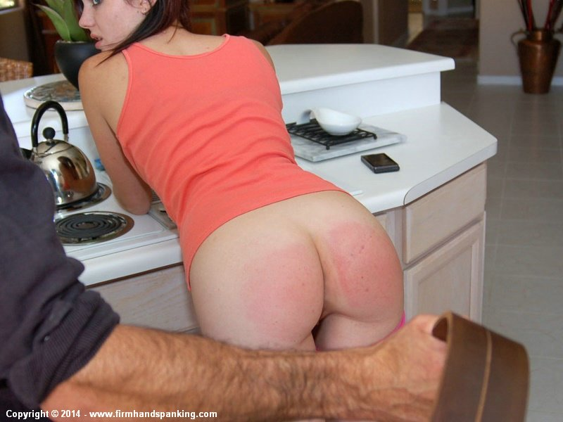 Funny! wife spanked by girls tits