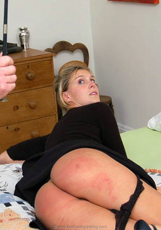 Strapping and paddling for a sassy girl spanking 3