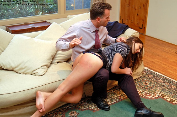 A spank can work