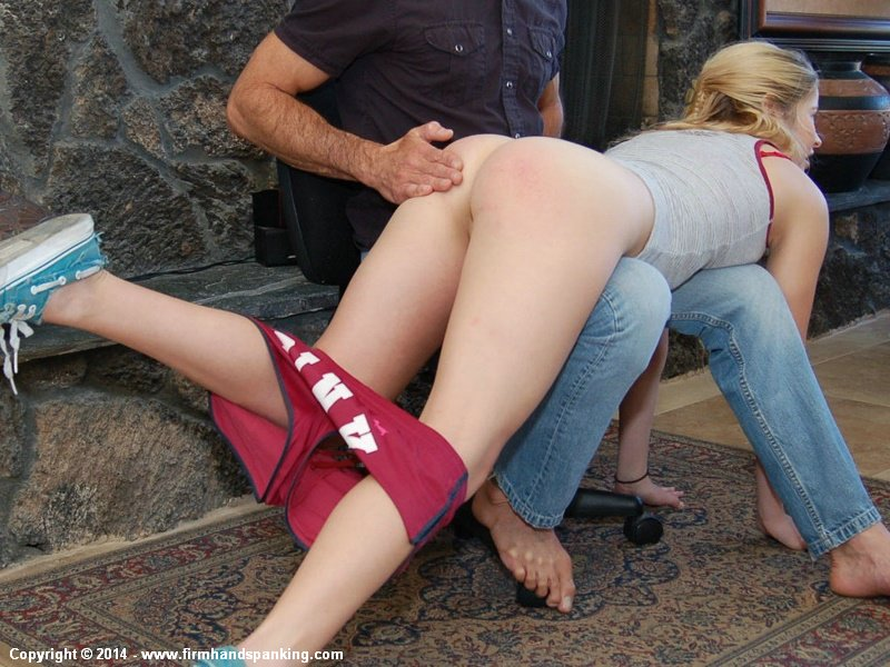 spanking bare Girl spanked butt