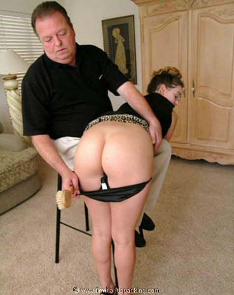 Hand spanking firm Firm Hand